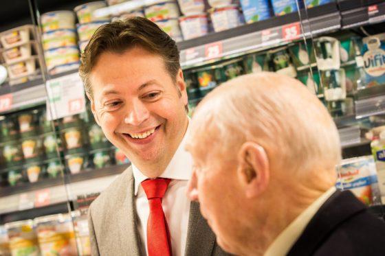 Marcel Huizing (Dirk) droomt van meer stadswinkels