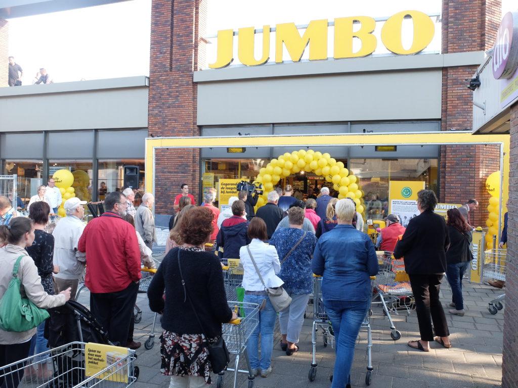 Jumbo Ulft opening
