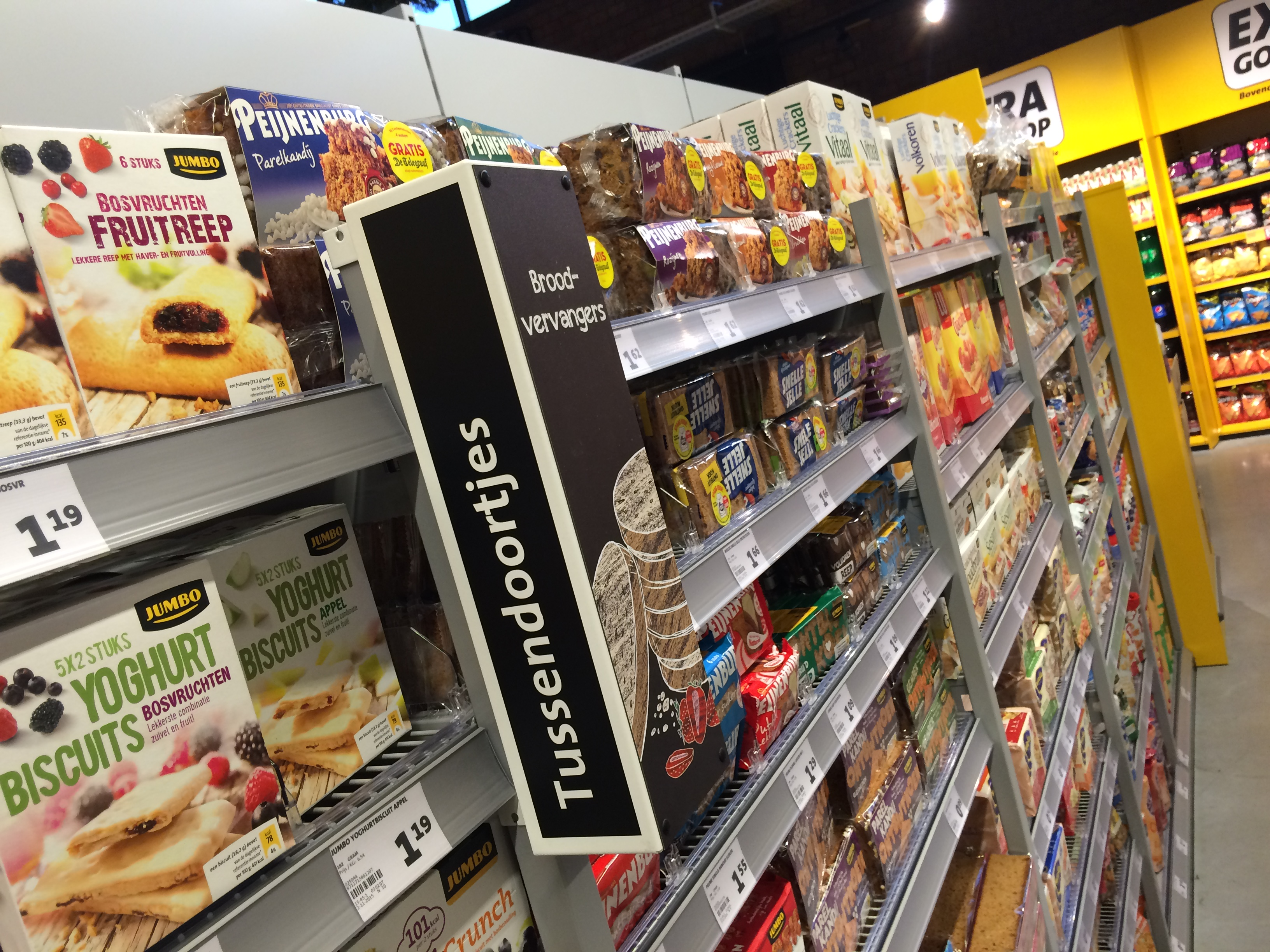 Tussendoorschap bij Jumbo Foodmarkt veghel iPhone foto's