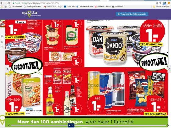 Apps maken prijsstelling supermarkten transparant