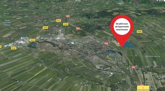 Komt die hypermarkt in Steenwijk er nu eindelijk?