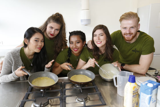 Studentuitvinding uit Nederland op Sial Paris: groentepannenkoek