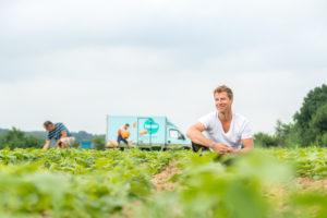 Portret: de Belgische saladekoning