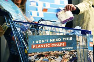 Niet passief, maar voorop in de strijd  tegen wegwerpplastic