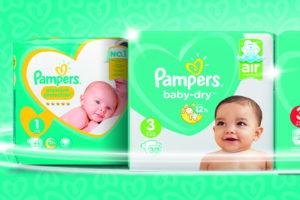 Vernieuwde Pampers Baby Dry glansrijk op 1 in stayersonderzoek