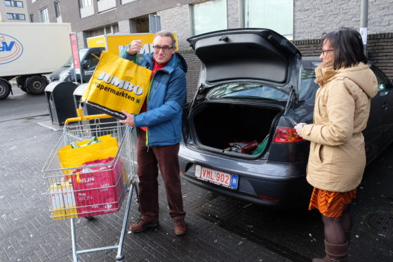 Belgische klant goed te spreken over Jumbo