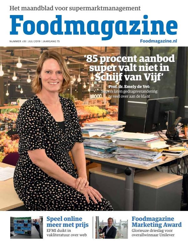 Foodmagazine nummer 7/8 2019